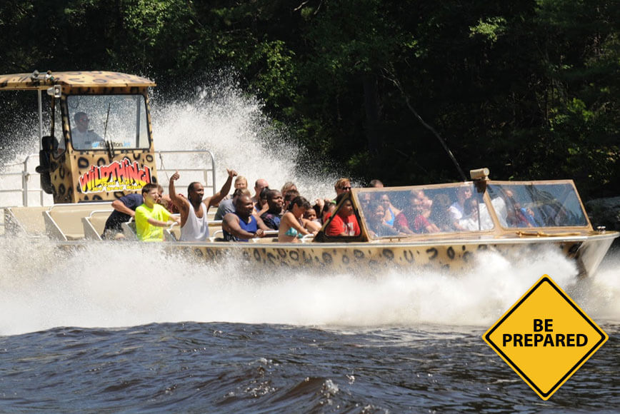 How To Prepare For Your Wildthing Jet Boat Tour Dells