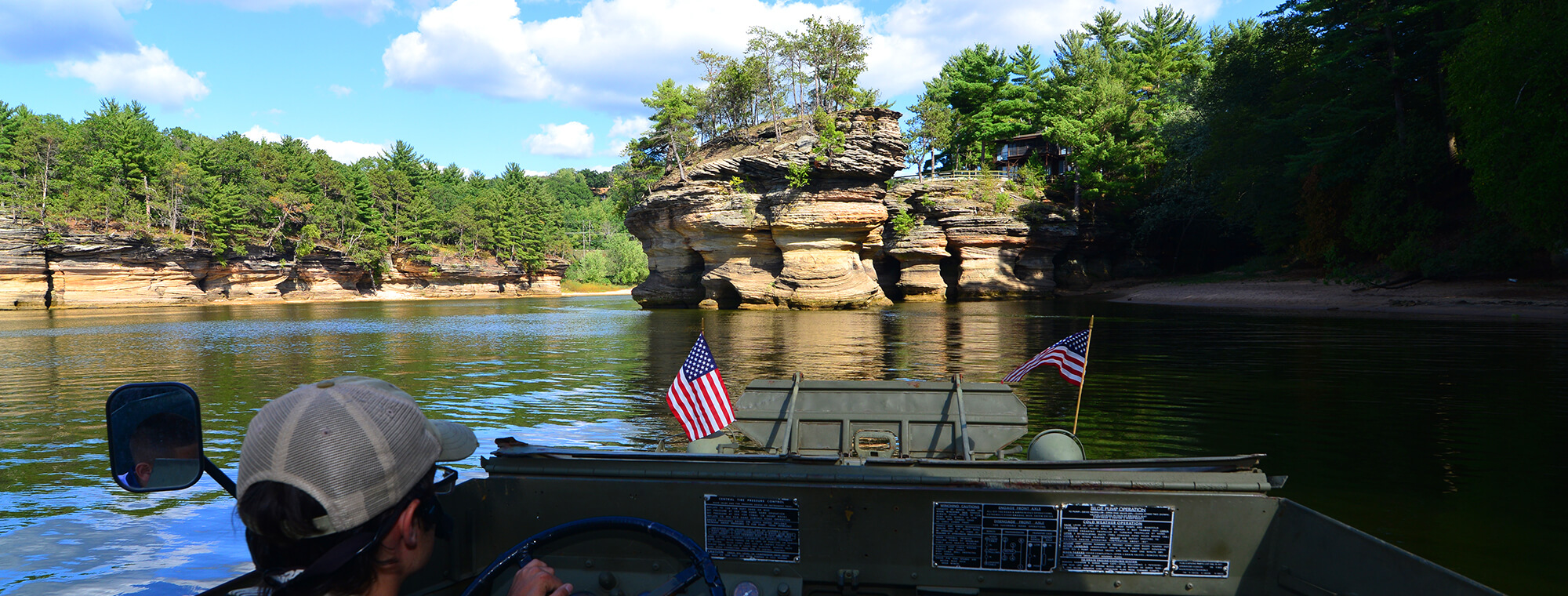 Wisconsin Dells Boat And Duck Tours Dells Army Ducks